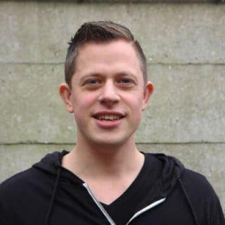 Carsten, front-end ontwikkelaar Nanda urenregistratie app