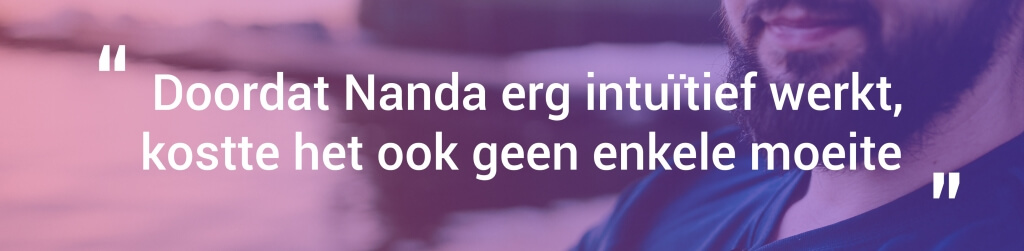Frank Janssen - recensie - Nanda urenregistratie - quote