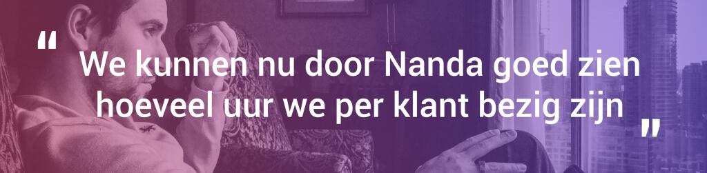 Koen van Manen - KRM Administratie - recensie - Nanda urenregistratie