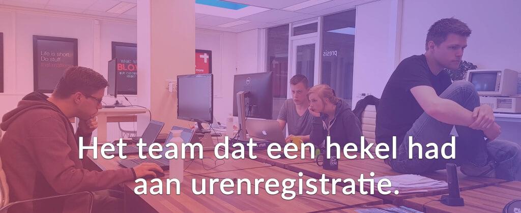 voordeel van online urenregistratie team