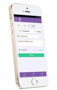 Nanda urenregistratie voor de bouw - mobiel
