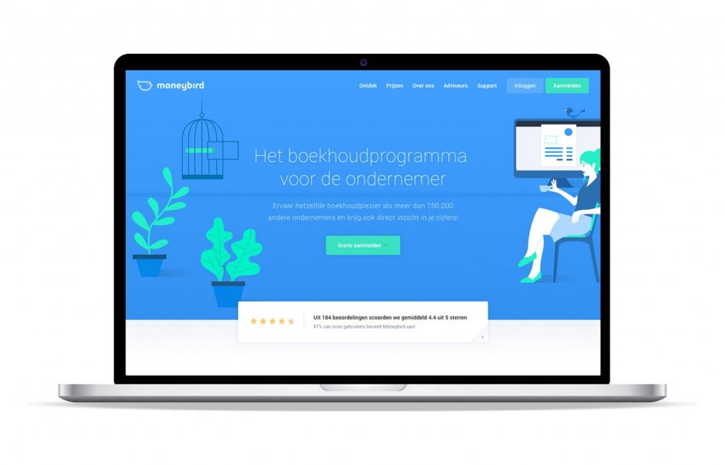 1 Nanda urenoverzicht - Online uren registreren - Moneybird koppeling