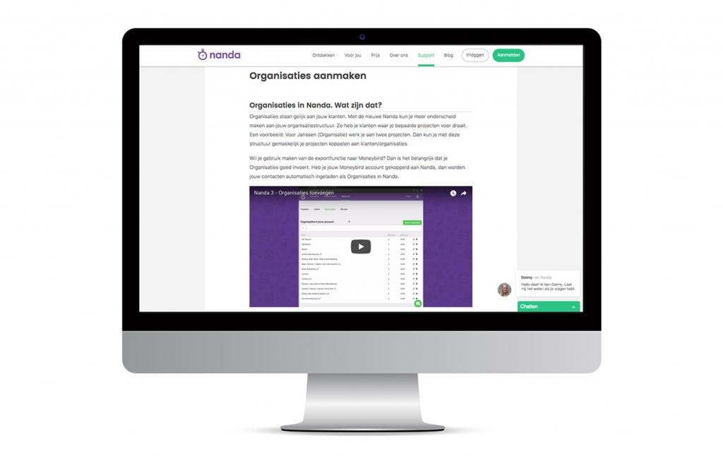 Nanda urenoverzicht - Online uren registreren - Kennisbank